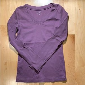 Loft Long Sleeve Tee Sz XS